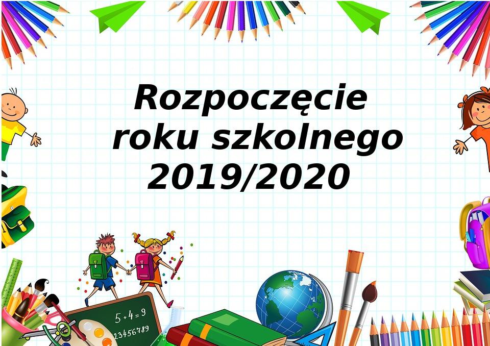 Nowy rok szkolny