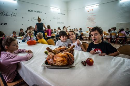 Prywatna szkoła akademia Soward - Święto Dziękczynienia 2018